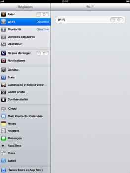 Apple iPad mini - WiFi - Configuration du WiFi - Étape 4