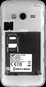 Samsung Galaxy Trend 2 Lite - SIM-Karte - Einlegen - 1 / 1