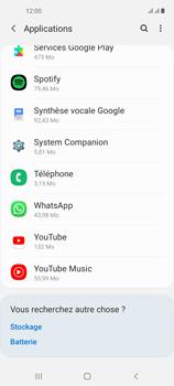 Samsung Galaxy A21s - Applications - Supprimer une application - Étape 5