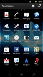 Sony LT30p Xperia T - E-mail - Sending emails - Step 3