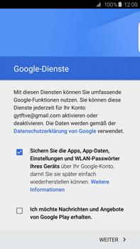 Samsung G928F Galaxy S6 edge+ - Apps - Konto anlegen und einrichten - Schritt 14