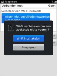 BlackBerry 9810 Torch - wifi - handmatig instellen - stap 5