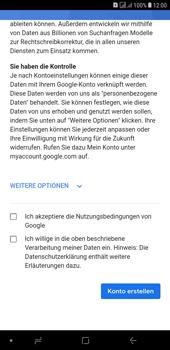 Samsung Galaxy J4+ - Apps - Konto anlegen und einrichten - Schritt 16