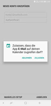 Samsung Galaxy J4+ - E-Mail - Konto einrichten (outlook) - 11 / 14