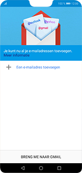 Huawei P20 Lite - E-mail - Handmatig instellen (gmail) - Stap 5