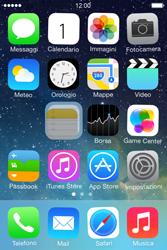 Apple iPhone 4S iOS 7 - Operazioni iniziali - personalizzazione della schermata iniziale - Fase 4