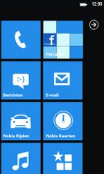 Nokia Lumia 800 - MMS - automatisch instellen - Stap 1