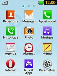 LG T580 - Sécuriser votre mobile - Personnaliser le code PIN de votre carte SIM - Étape 3