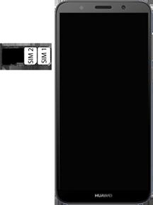 Huawei Y5 (2018) - Device - Insert SIM card - Step 7