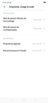 Oppo Reno 2Z - Sécuriser votre mobile - Activer le code de verrouillage - Étape 5