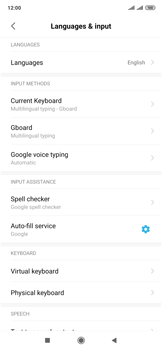 Xiaomi Mi Mix 3 5G - Getting started - How to add a keyboard language - Step 5