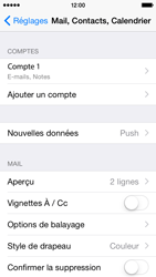 Apple iPhone 5s - iOS 8 - E-mail - Configuration manuelle - Étape 17