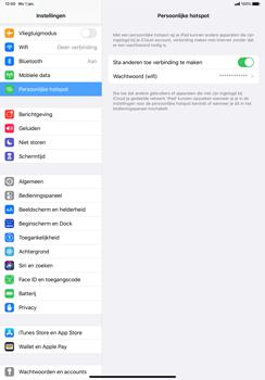 Apple iPad Pro 11 inch 2nd generation (2020) (Model A2230) - WiFi - Mobiele hotspot instellen - Stap 8