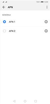 Huawei P20 Pro - Android Pie - Internet e roaming dati - Configurazione manuale - Fase 16