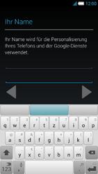 Alcatel OT-6034 Idol S - Apps - Konto anlegen und einrichten - Schritt 6