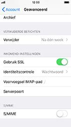 Apple iPhone SE - iOS 12 - E-mail - e-mail instellen: IMAP (aanbevolen) - Stap 24