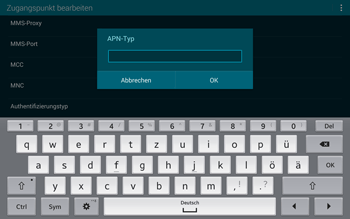 Samsung T805 Galaxy Tab S - MMS - Manuelle Konfiguration - Schritt 13