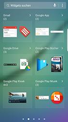 Samsung Galaxy S6 Edge - Android Nougat - Startanleitung - Installieren von Widgets und Apps auf der Startseite - Schritt 4