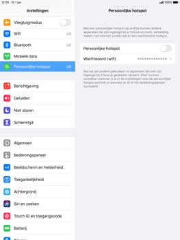 Apple ipad-mini-5-7-9-inch-2019-model-a2124-ipados-13 - WiFi - Mobiele hotspot instellen - Stap 4