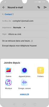 Huawei P Smart 2020 - E-mails - Envoyer un e-mail - Étape 10