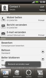 HTC S510b Rhyme - contacten, foto