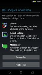 Sony Xperia V - Apps - Einrichten des App Stores - Schritt 18