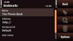 Nokia N97 Mini - Internet - Internet browsing - Step 9