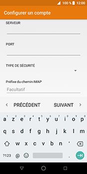 ZTE Blade V9 - E-mail - Configuration manuelle - Étape 16