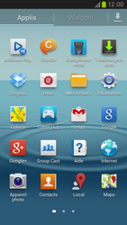 Samsung Galaxy S III LTE - Téléphone mobile - Réinitialisation de la configuration d