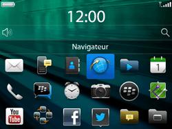 BlackBerry 9720 - Internet et connexion - Naviguer sur internet - Étape 3