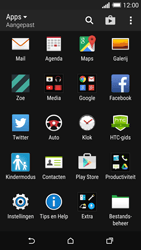 HTC One M8s (Model 0PKV100) - Applicaties - Account aanmaken - Stap 3