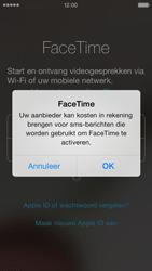 Apple iPhone 5 - Applicaties - FaceTime gebruiken - Stap 6