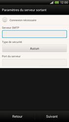 HTC S728e One X Plus - E-mail - Configuration manuelle - Étape 13