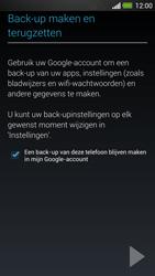 HTC One - Applicaties - Account instellen - Stap 23