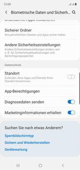 Samsung Galaxy Note 10 - Startanleitung - So aktivieren Sie eine SIM-PIN - Schritt 5