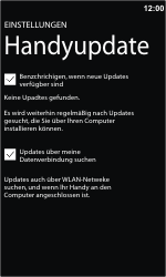 Nokia Lumia 610 - Software - Update - Schritt 5