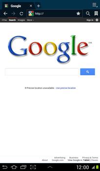 Samsung P3100 Galaxy Tab 2 7-0 - Internet - Internet browsing - Step 4