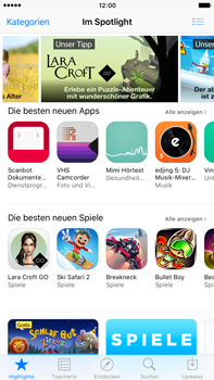 Apple iPhone 6 Plus iOS 9 - Apps - Nach App-Updates suchen - Schritt 3