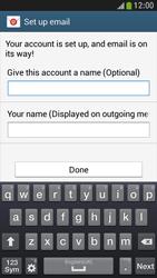 Samsung Galaxy S 4 Mini LTE - E-mail - manual configuration - Step 16