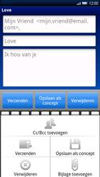 Sony Xperia X10 - E-mail - E-mails verzenden - Stap 9
