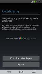 LG G Flex - Apps - Konto anlegen und einrichten - 23 / 26