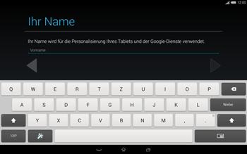 Sony Xperia Tablet Z2 LTE - Apps - Einrichten des App Stores - Schritt 5