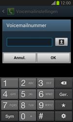 Samsung I8260 Galaxy Core - voicemail - handmatig instellen - stap 8
