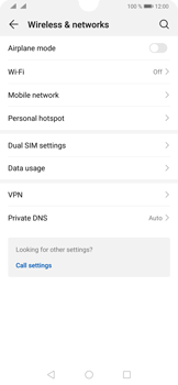 Huawei P30 - Internet and data roaming - How to check if data-connectivity is enabled - Step 4