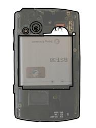 Sony Ericsson Xperia X10 Mini Pro - SIM-Karte - Einlegen - Schritt 5