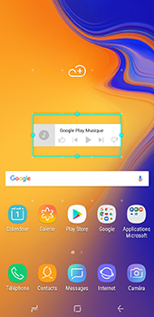Samsung Galaxy J6 Plus - Applications - Personnaliser l