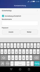 Huawei Y6 - E-Mail - Konto einrichten - Schritt 14