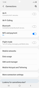 Samsung Galaxy Note 20 5G - Network - How to enable 5G network connection - Step 5