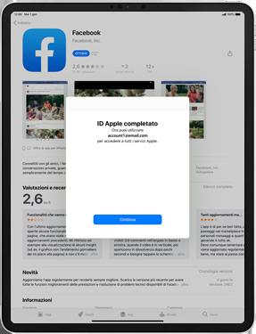 Apple iPad Pro 10.5 (1st gen) - iPadOS 13 - Applicazioni - Configurazione del negozio applicazioni - Fase 22