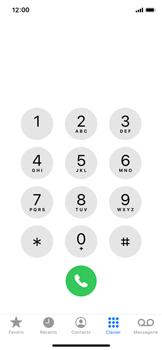 Apple iPhone X - iOS 13 - Appels - Bloquer les numéros de téléphone internationaux - Étape 3